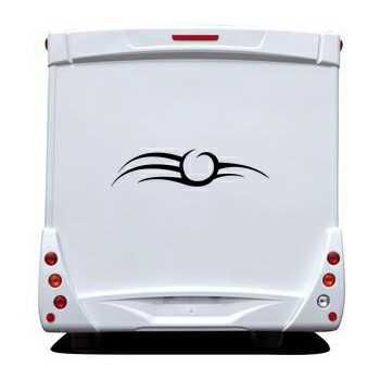 Tribal Camping Car Decal 39