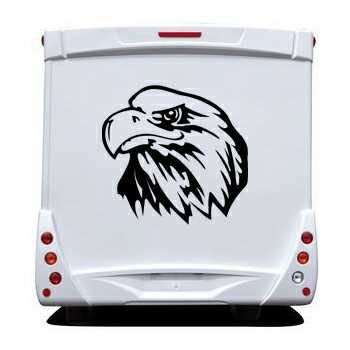 Eagle Camping Car Decal 7