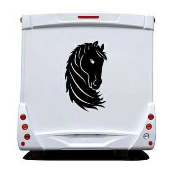 Sticker Camping Car Cheval 6
