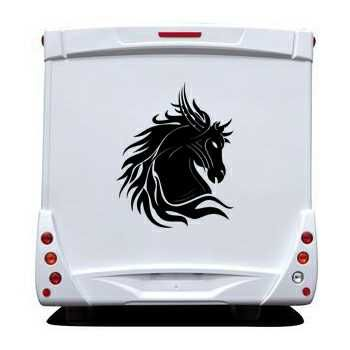 Tribal Horse Camping Car Decal
