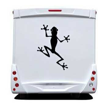 Sticker Camping Car Grenouille 2