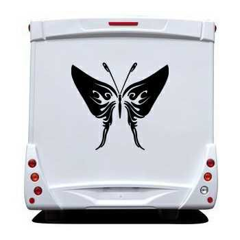 Butterfly Camping Car Decal 72