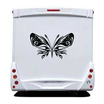 Butterfly Camping Car Decal 75