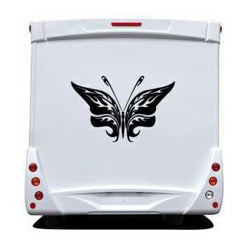 Butterfly Camping Car Decal 76