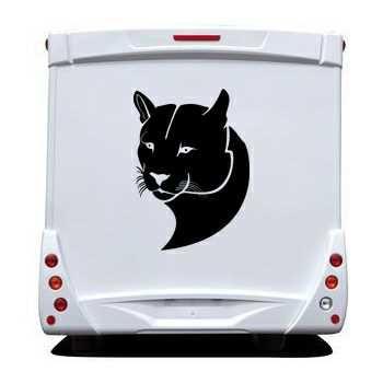 Sticker Camping Car Puma