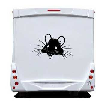 Sticker Camping Car Rat 2