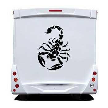 Sticker Camping Car Scorpion 2