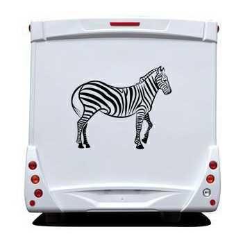 Zebra animal Camping Car Decal