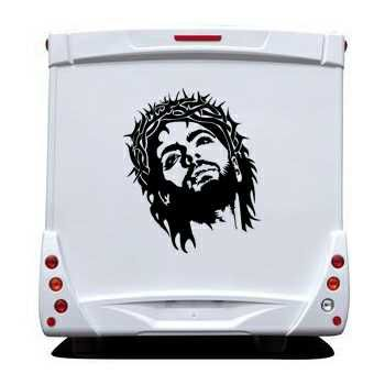 Jesus Christ Camping Car Decal