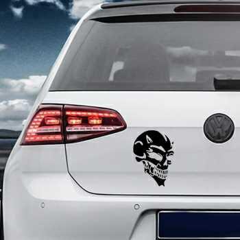 Sticker VW Golf Tête de Mort Diable 7