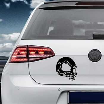 Skull Volkswagen MK Golf Decal 10