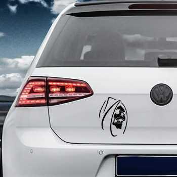 Skull Volkswagen MK Golf Decal 12