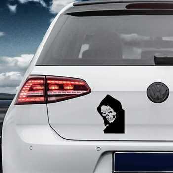Skull Volkswagen MK Golf Decal 13