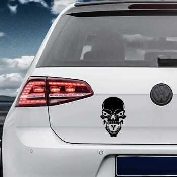 Skull Volkswagen MK Golf Decal 27