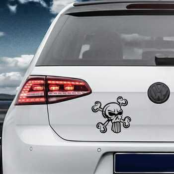 Punisher Skull Volkswagen MK Golf Decal 28