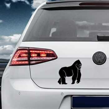 Gorilla King Kong Volkswagen MK Golf Decal