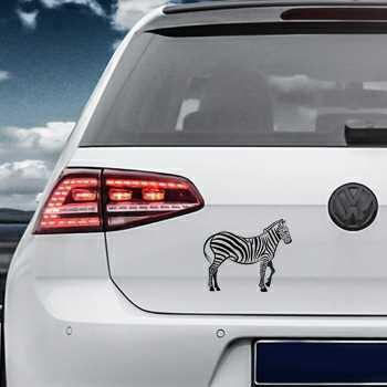 Zebra animal Volkswagen MK Golf Decal