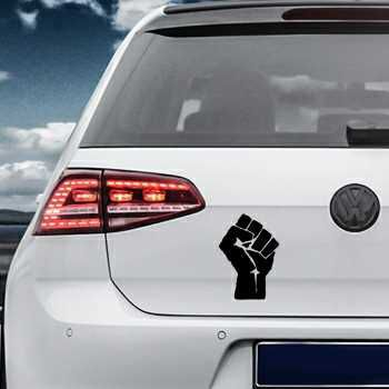Fist Volkswagen MK Golf Decal 2