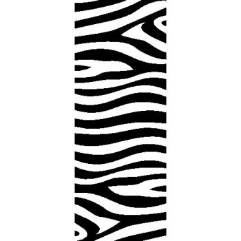 Zebra Strip Motorcycle Decal
