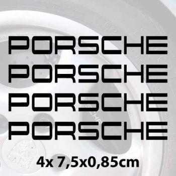 Kit Stickers etrier frein Porsche 964