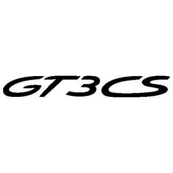 Porsche GT3 CS logo decal