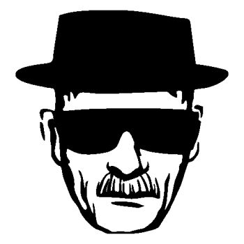 Heisenberg Breaking Bad decal