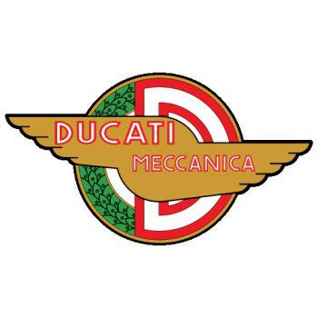 Sticker Ducati Meccanica Logo