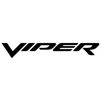 Dodge Viper decal