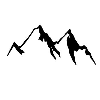 Mountain Decal