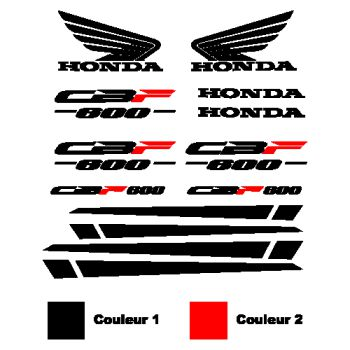 Honda Honda CBF 600 stickers set - in 2 colors