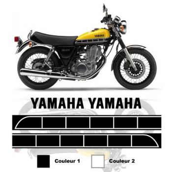 Kit stickers réservoir Yamaha SR 400