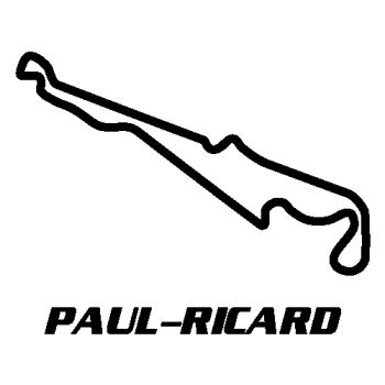 Paul-Ricard Castellet Circuit Decal
