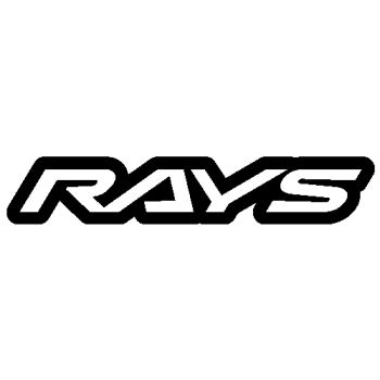 Sticker Felgen Rays logo