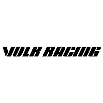Sticker jantes Rays Volk Racing Logo
