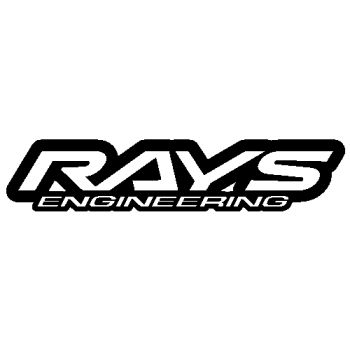 Sticker Rays Engineering Logo