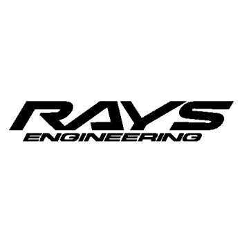 Rays Engineering logo B Decal