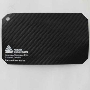Vinyle Avery Covering film 3D - Carbon Fiber Black (noir Carbone)