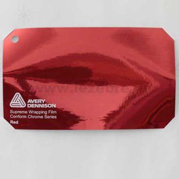 Vinyl Avery Covering film 3D - Chrome Red