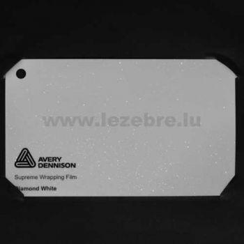 Vinyl Avery Covering film 3D - Diamond White