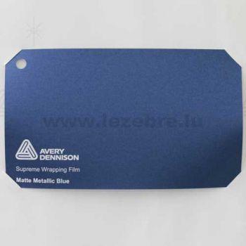 Vinyle Avery Covering film 3D - Matte Metallic Blue (bleu mat)