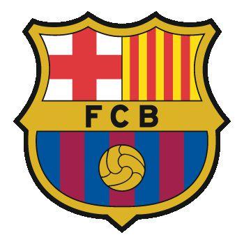 Sticker FC Barcelone Couleur