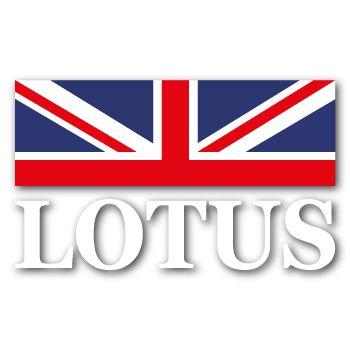 Sticker Lotus drapeau Grande Bretagne
