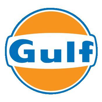 Sticker Gulf Logo Couleur