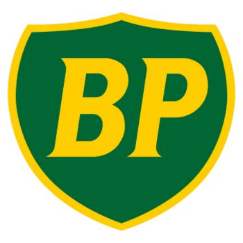 BP old logo (green and yellow) Decal