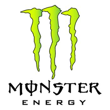 Sticker Auto Moto Deco Monster Energy Logo