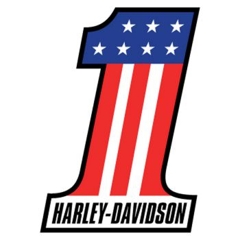 Sticker Harley Davidson One USA ★