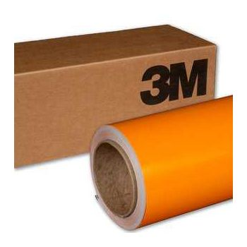 Film covering Orange Vif Brillant (Vinyle 3M pour Camping-Car)