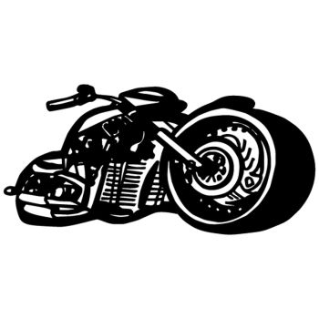 High speed motocycle decal [CLONE]