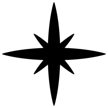 Space Star Decal B