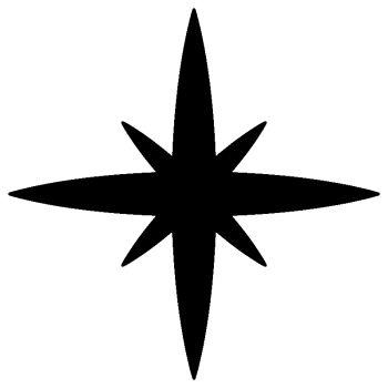 Sticker Étoile de l'espace B